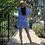 Thumbnail: stripe  shirt mini dress