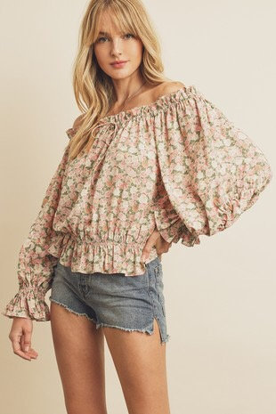 All in Bloom ots top