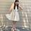 Thumbnail: ditsy faux wrap  mini dress