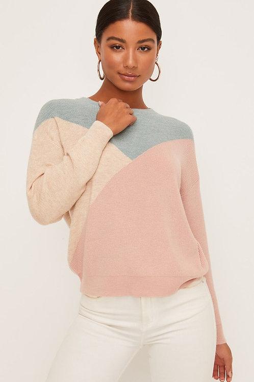 pastel color block