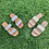 Thumbnail: straw double strap slides