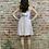 Thumbnail: violet tie back mini dress