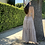 Thumbnail: floral strappy tie back maxi dress