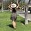 Thumbnail: ditsy tie shoulder mini dress