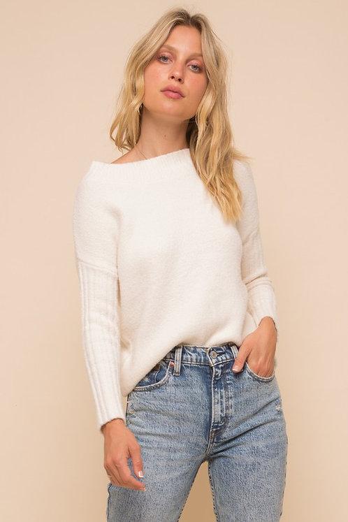 ots rib cozy sweater