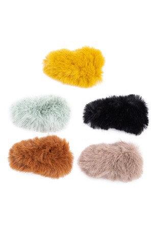 Fuzzy clips