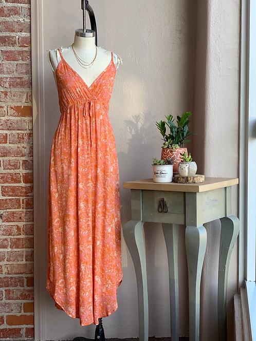 Mango sorbet floral maxi dress