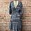 Thumbnail: paisley tier double v mini dress