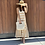 Thumbnail: stripe panel maxi dress