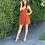 Thumbnail: flowy tie back mini dress