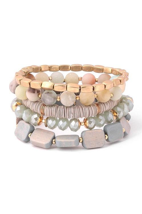 5 strand bracelet set