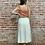 Thumbnail: side slit linen skirt