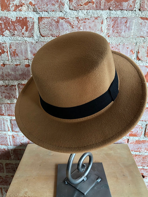 wide brim boater hat