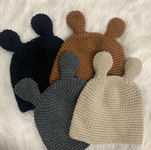 teddy woven beanie