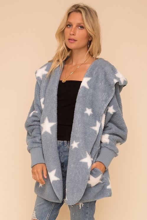 cozy star hoodie