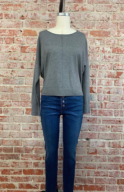 center seam pullover