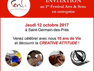 1er Festival Arts & Sens en entreprise
