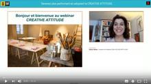 Le webinar CREATIVE ATTITUDE fait le buzz au Salon SME Online !