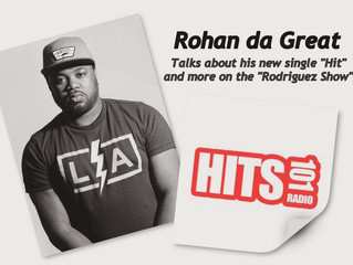 Rohan da Great talks music and more on The Rodriquez show.