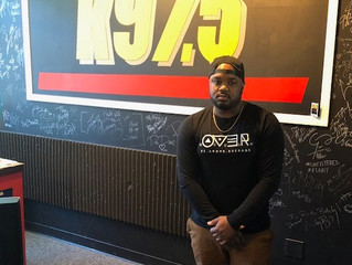 Rohan da Great gets featured on K97.5 FM's Carolina Waves!