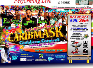 Rohan da Great booked for Raleigh's Caribmask Caribbean Carnival 2 years in a row!