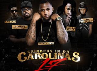 "Rohan Da Great gets cover spot on ""Grinders in Da Carolinas"" Volume 17"