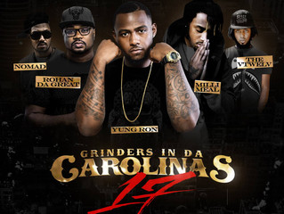 "Rohan Da Great gets cover spot on ""Grinders in Da Carolinas"" Volume 17"