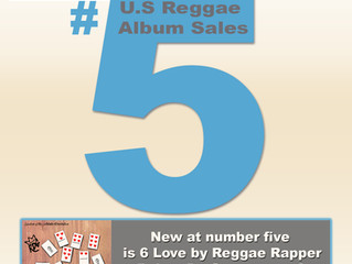 6 Love by Rohan da Great debuts at #5 for U.S Reggae Albums Sales per Soundscan