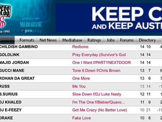 "Rohan da Great's ""One More"" is #44 on the mediabase charts!!"