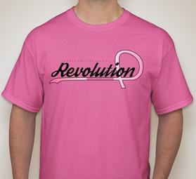 Revolution Awareness Tee Font