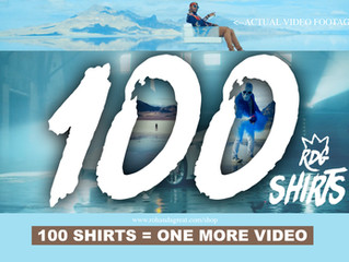 #100SHIRTS4ONEMORE Help Rohan da Great make the best video ever!!!