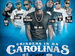 """Great News!!! """"Only One"""" has been selected for """"Grinders in da Carolina's"""" V"""