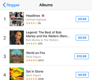 6 Love  iTunes Chart.jpg
