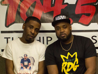 Rohan da Great interviewed on Fayetteville'S WCCG 104.5FM