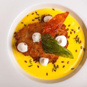 Треска в сырном соусе