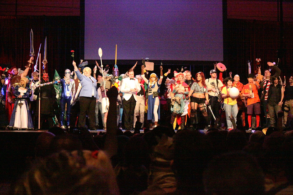 Contestants in the Cosplay Deathmatch