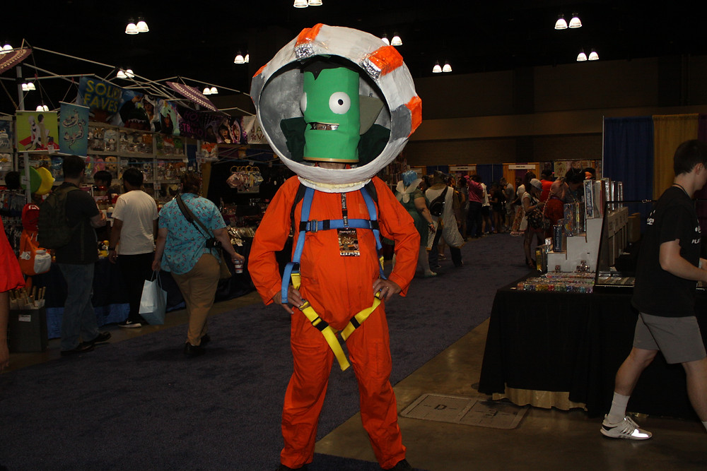 Jebediah Kerbal.....back from the dead again and again and again.......