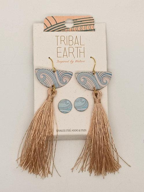 Tribal Earth Earrings