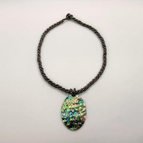 Oval Paua Necklace
