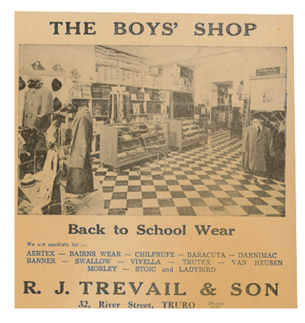 Trevails: School Uniform for Cornwall schools since 1958
