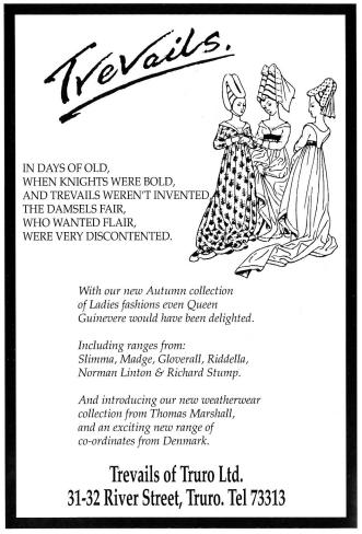 An 'amusing' advert for womenswear