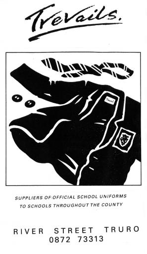 Schoolwear advert