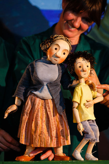 Jack and Mum |  The Magic Beanstalk by Light Theatre - Cornwall's new pupppetry company for Cornwall