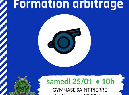 Formation arbitrage de niveau 1 • sam 25 janvier • 10h