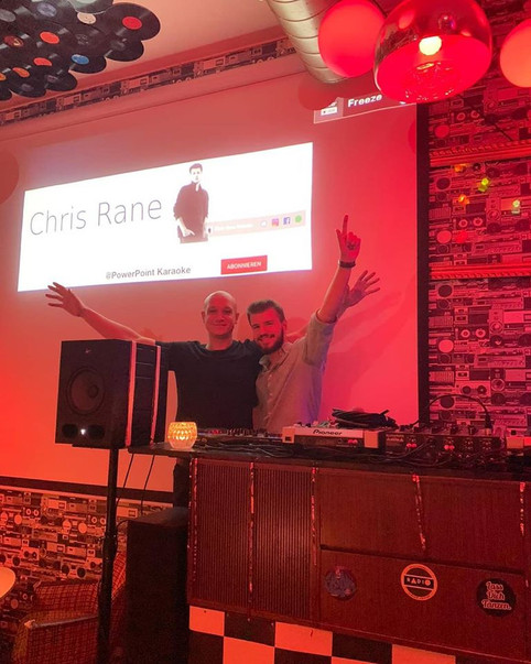 Chris Rane live at Radio - The Label Bar (September 17, 2019)