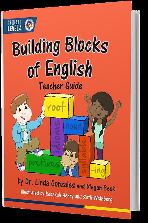 P4 Building Blocks of English | Teacher Textbook