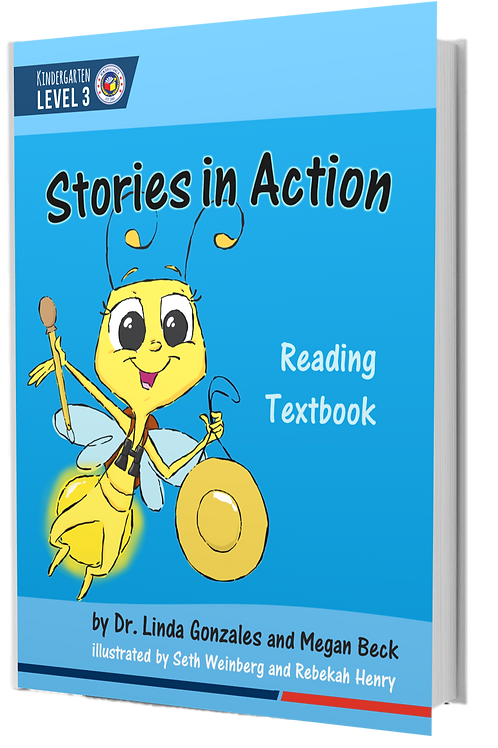 K3 Stories in Action | Reading Textbook