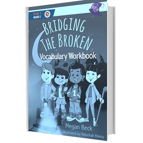 The Dream Cap Series | Bridging the Broken | Vocabulary Book