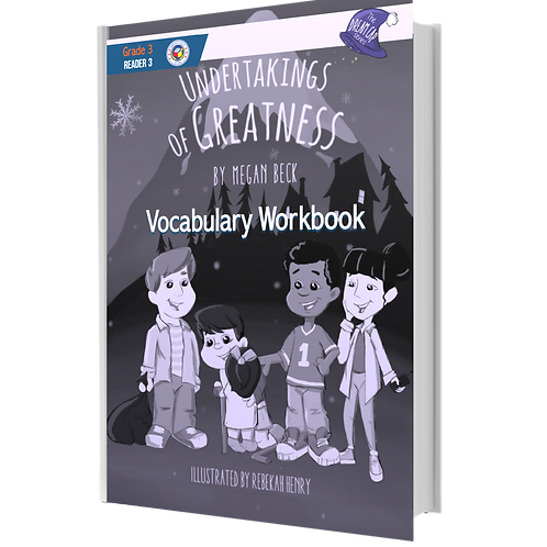 The Dream Cap Series | Undertakings of Greatness | Vocabulary Book