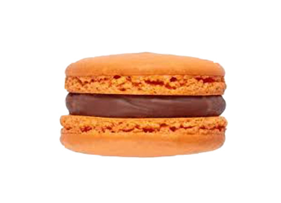 Chocolate, Orange & Salted Caramel macaroons